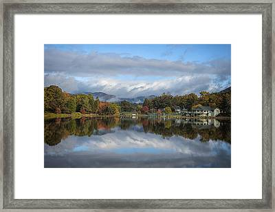 Lake Tomahawk Framed Print