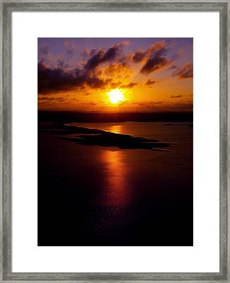 Lake Travis 101112 2 Framed Print by James Granberry