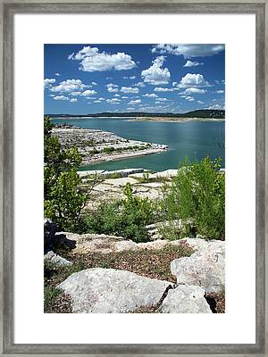 Lake Travis Framed Print