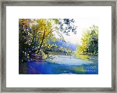 Lake View 2  Framed Print