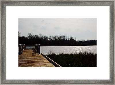 Lake View Framed Print by Derek Szelong