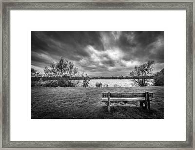 Lake View. Framed Print