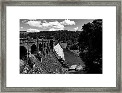 Framed Print featuring the photograph Lake Vyrnwy Resevoir by Stephen Taylor