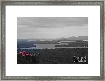 Lake Winnipesaukee      Sold Framed Print