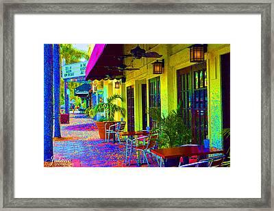 Lake Worth Playhouse Framed Print