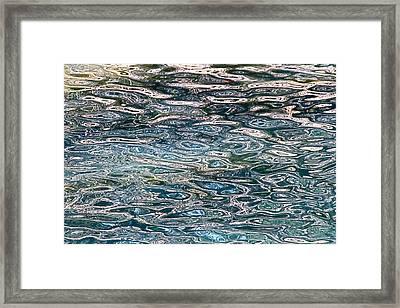 Lake Wylie Reflection Framed Print by John Illingworth