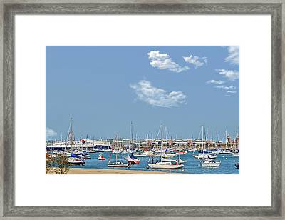 Lakefront Chicago Framed Print