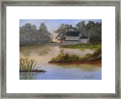 Lakehouse Framed Print