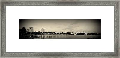 Framed Print featuring the photograph Lakeland by Laurie Perry