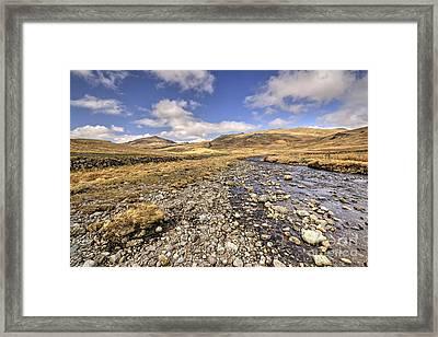 Lakeland Vista  Framed Print by Rob Hawkins
