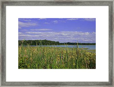 Lakes Of Indiana Framed Print by Thomas Fouch