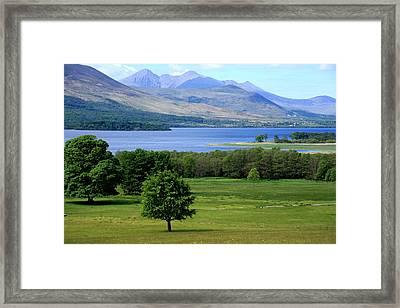 Lakes Of Killarney - Killarney National Park - Ireland Framed Print