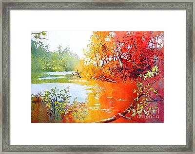 Lakescene 1 Framed Print