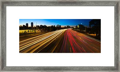Lakeshore Drive Chicago Framed Print by Steve Gadomski