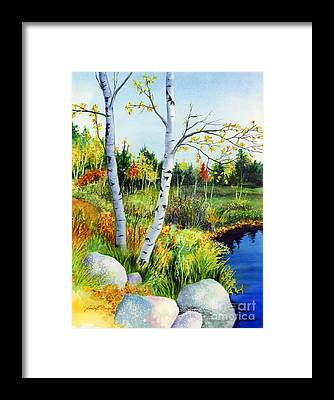 Lakeside Framed Prints