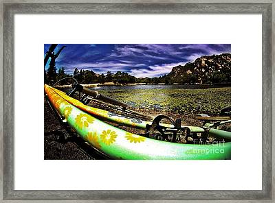 Lakeside Cruzzz Framed Print by Scott Allison