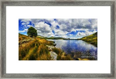 Lakeside Memories Framed Print by Ian Mitchell
