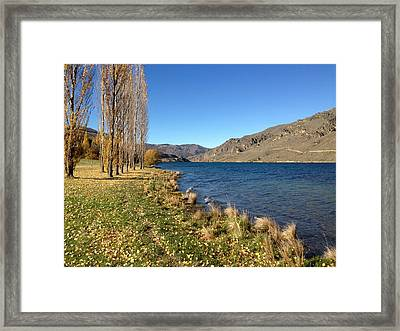 Lakeside Framed Print by Ron Torborg