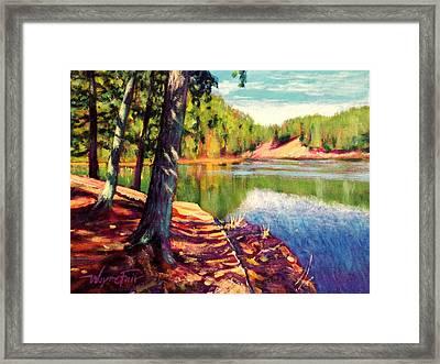 Lakeside Tuscaloosa Framed Print