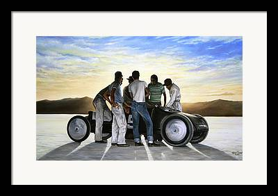Hot Car Framed Prints