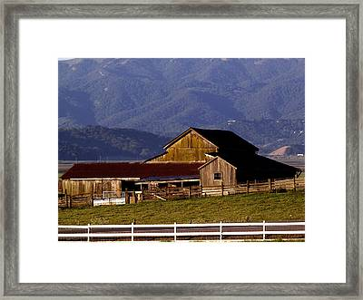 Lakeville Barn Framed Print