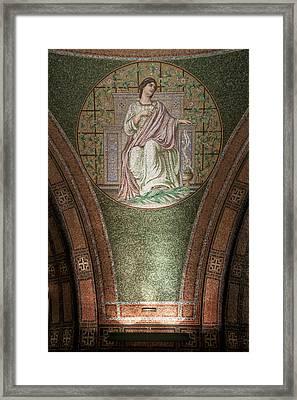 Lakewood Chapel Detail Faith Framed Print by T C Hoffman