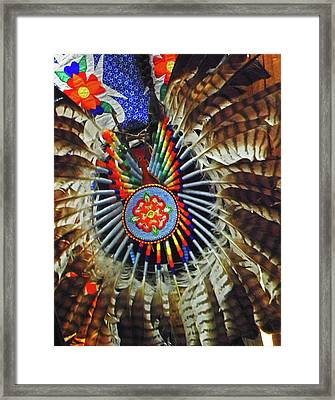 Lakota Feather Dance Framed Print