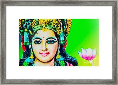 Lakshmi's Love Framed Print by Tarik Eltawil
