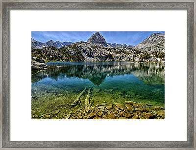 Lamark Lake Framed Print by Cat Connor