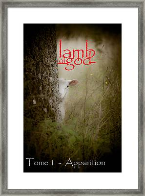 Lamb Of God Book Cover Framed Print by Loriental Photography