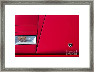 Lambo Framed Print by Tim Gainey