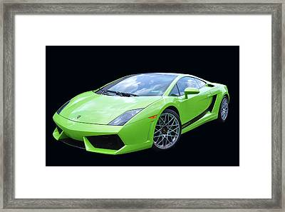 Lambourghini Salamone  Framed Print by Allen Beatty