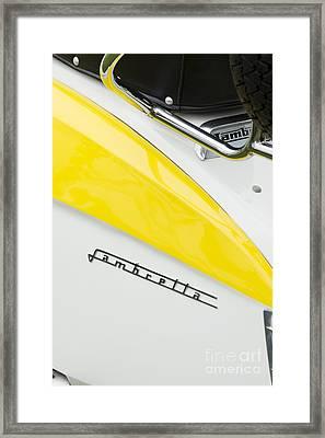 Lambretta Scooter Framed Print