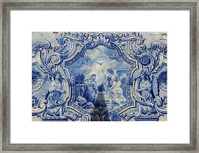 Lamego, Portugal, Shrine Of Our Lady Framed Print by Jim Engelbrecht