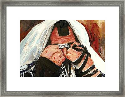 Lamentations Framed Print
