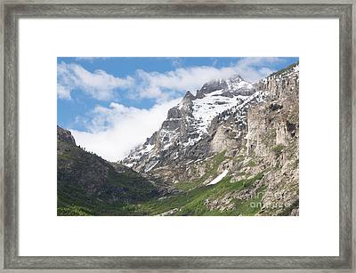 Lamoille Canyon Framed Print by Vinnie Oakes