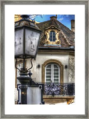 Lamp Framed Print by Nathan Wright