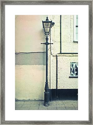 Lamp Post Framed Print by Tom Gowanlock
