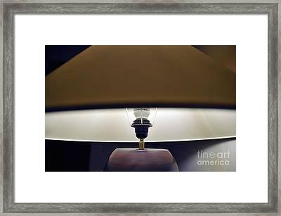 Lampshade Framed Print
