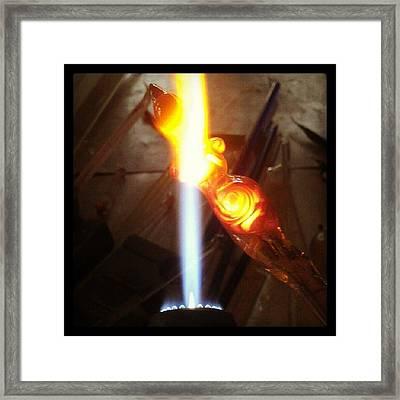 Lampwork Goddess Framed Print by Deenie Wallace
