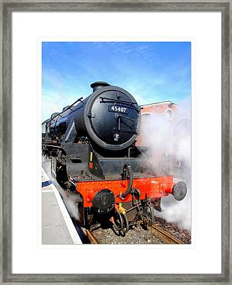 Lancashire Fusilier 45407 Framed Print by The Creative Minds Art and Photography