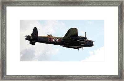 Lancaster Bomber Framed Print by /us Air Force