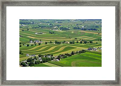 Lancaster County Framed Print by Dan Myers