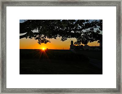 Lancaster County Morning Framed Print by Bill Cannon