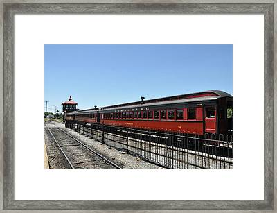 Lancaster County's Strasburg Railroad Framed Print by Bill Cannon