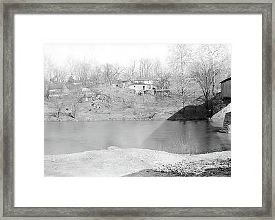 Lancaster, Pennsylvania - Housing. Sunnyside - Near Covered Framed Print by Litz Collection