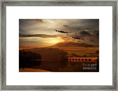 Lancasters Tour The Derwent Framed Print
