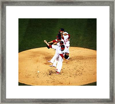 Lance Lynn Pitches Framed Print