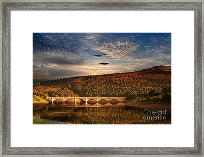 Lancs At Ladybower  Framed Print by J Biggadike