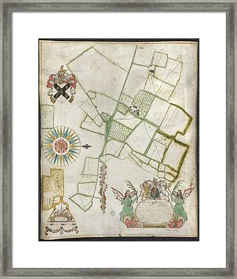 Land Belonging To Nash Howse Framed Print by British Library